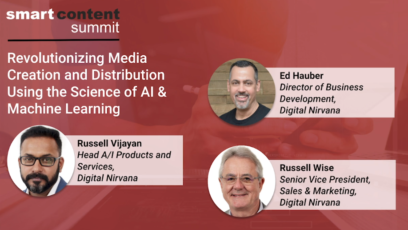 Digital nirvana content creation and distribution with AI and ML
