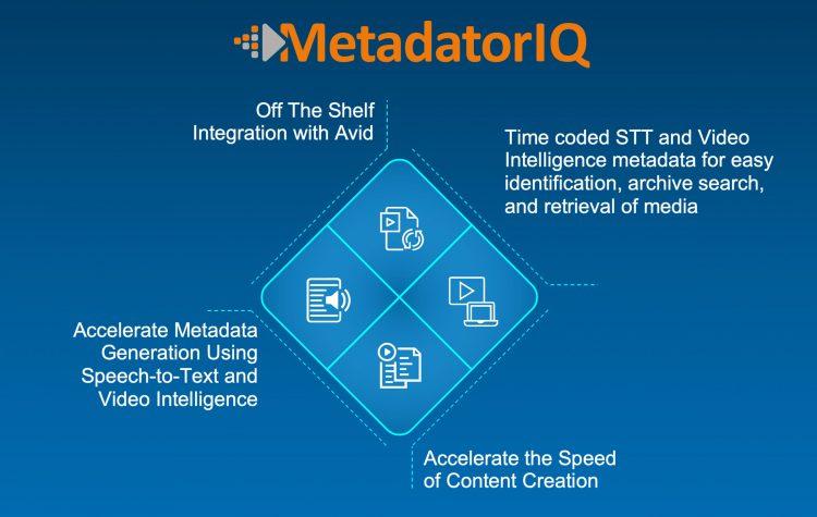 MetadataIQ metadata automation from digital nirvana
