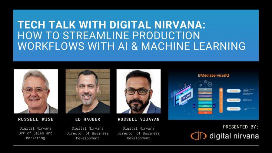 Digital Nirvana Tech talk at NAB Amplify 2021