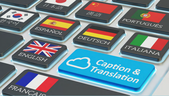 Caption and Translation services